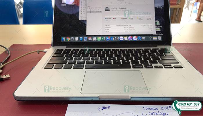 Khôi phục dữ liệu Macbook